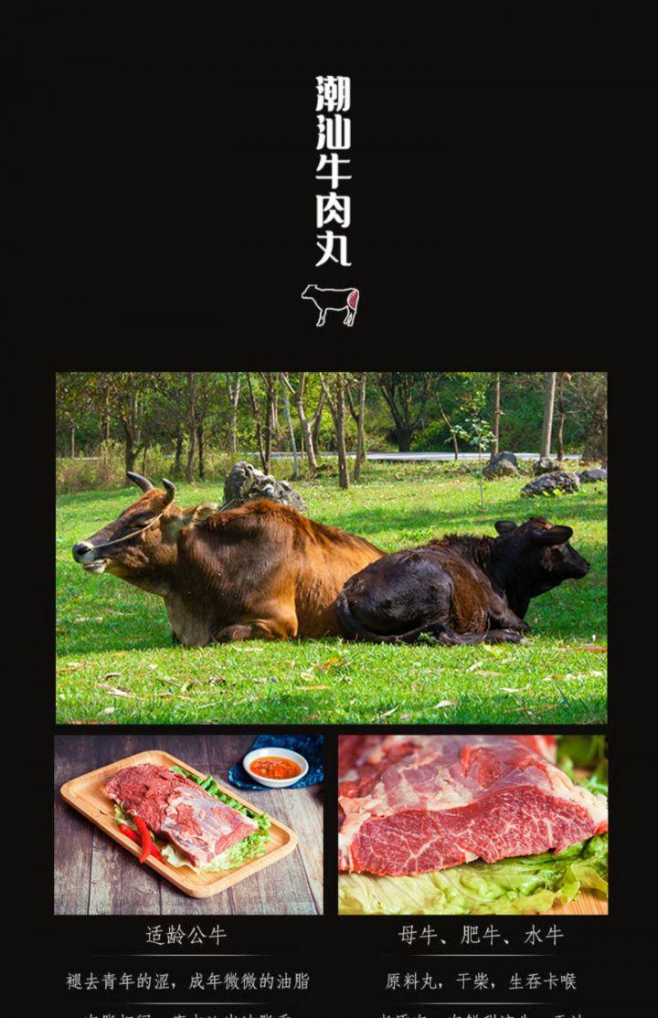 正宗潮汕牛丸手打牛肉丸 -4