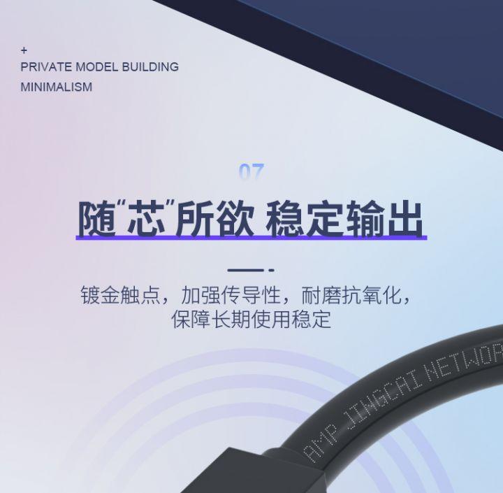 【千兆纯铜】家用六类工程超6网线 -12